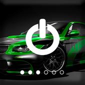 Turbo Sport Car Extreme PIN Screen Lock icon