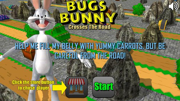 Bugs Crosses The Road 3D poster