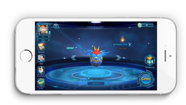 Spin Fighters Champion System apk screenshot