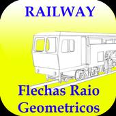 Flechas Raio Geométricos icon