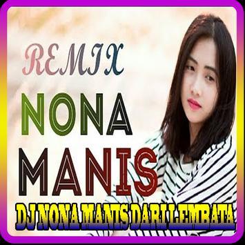 DJ NONA MANIS DARI LEMBATA Mp3 poster