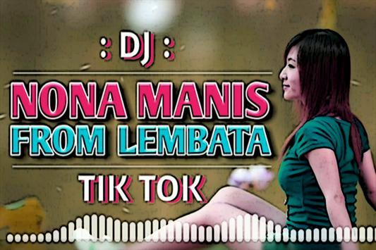 DJ NONA MANIS DARI LEMBATA Mp3 screenshot 5