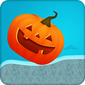 pumpkin rolling game icon
