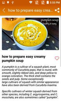 Pumpkin Soup Recipe screenshot 5