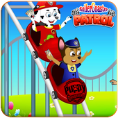 Paw Puppy RollerCoasters Patrol icon