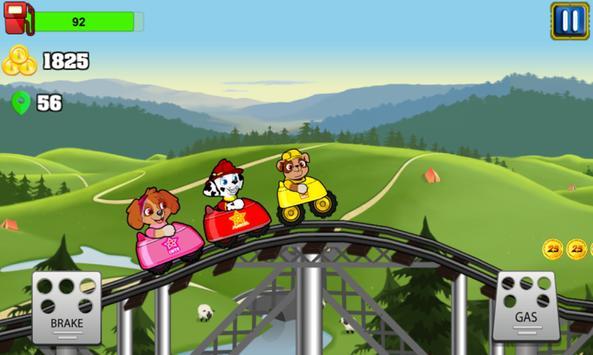 Paw Puppy RollerCoasters Patrol apk screenshot