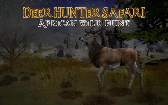 Deer Hunter Safari – African Wild Hunt screenshot 5