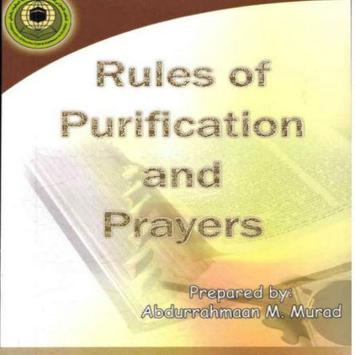 Purification and prayers poster