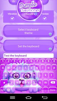 Purple Keyboard Themes screenshot 2