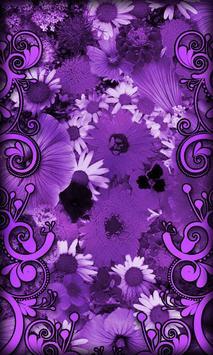 Purple Flowers Live Wallpaper Apk Download Free Personalization Screenshot Gambar