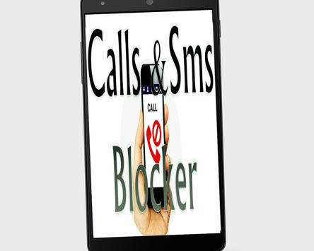 Advanced Call & SMS Blocker poster