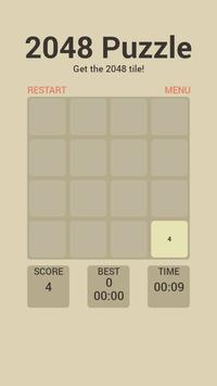 Puzzle 2048 screenshot 1