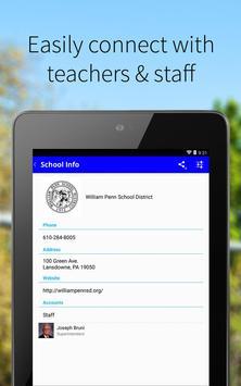 William Penn School District screenshot 1