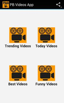 PB Videos App poster