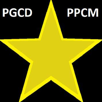 Calcul du pgcd et du ppcm poster