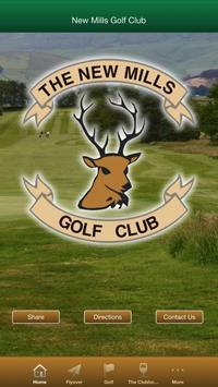 New Mills Golf Club poster
