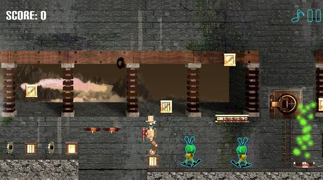 SteamPunk Robot : Alien War screenshot 3