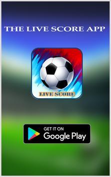 LiveScore Football poster