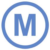 Metro (Paris underground) icon