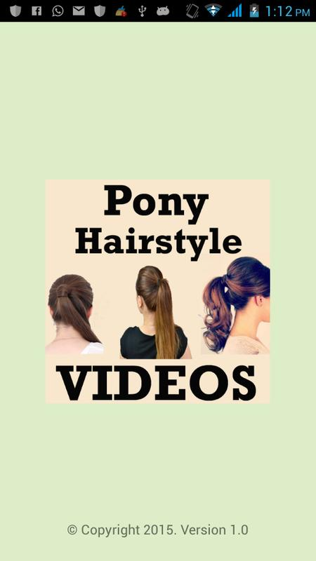 Pony Hairstyles Step Videos For Android Apk Download