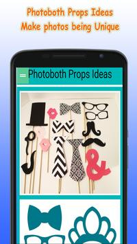 Photobooth props ideas poster