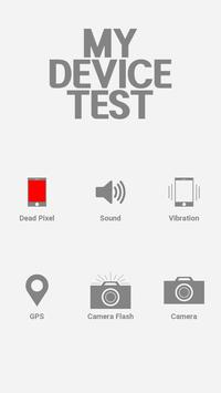 MY DEVICE TEST poster
