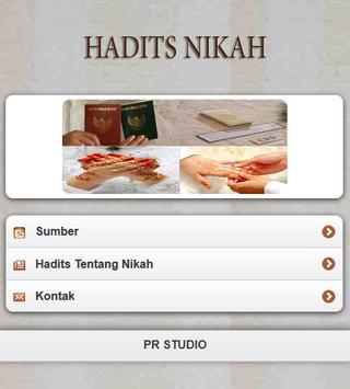 Hadits Nikah apk screenshot