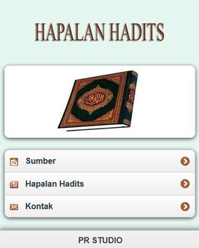 Hadits Hapalan screenshot 1