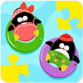Stickers Funny Penguins icon