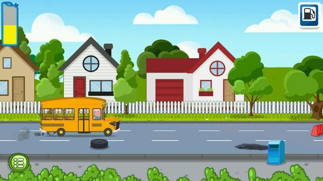 Kids School Bus Adventure poster