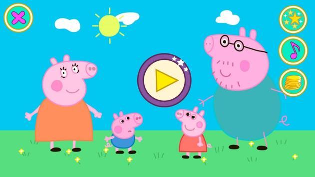 Peppa Pig kids Puzzles Cartaz