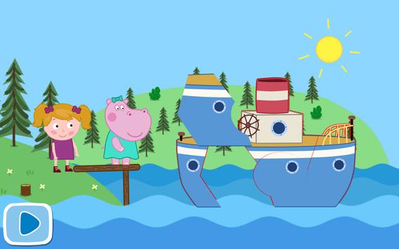 Baby Trip. Animated Puzzles apk screenshot