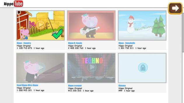 Kids music party: Hippo Super star screenshot 5