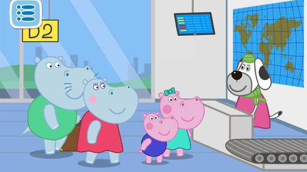 Hippo at the Airport: Adventure screenshot 12
