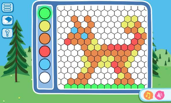 Peppa kids mini games apk screenshot