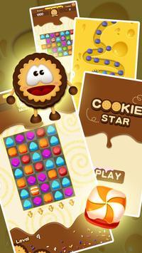 Cookie Mash Star apk screenshot