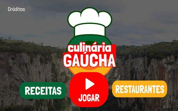 Jogo Culinária Gaúcha poster