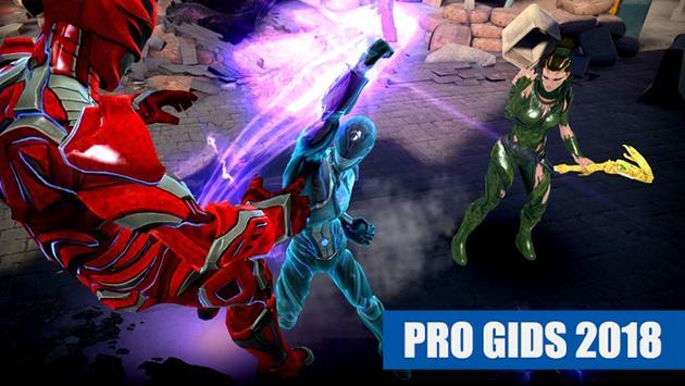 Power Rangers Legacy Wars Gids 2018 FREE poster