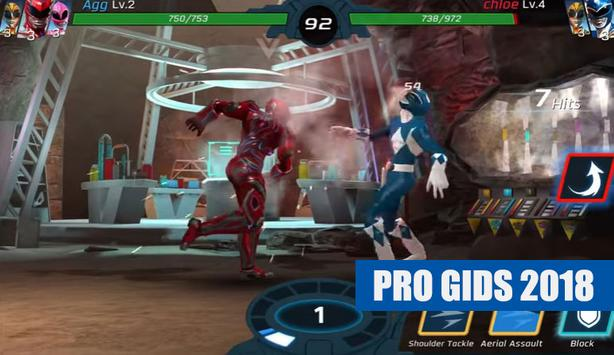 Power Rangers Legacy Wars Gids 2018 FREE screenshot 2