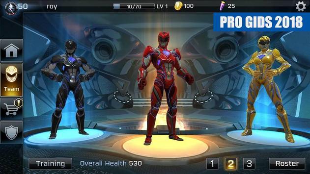Power Rangers Legacy Wars Gids 2018 FREE screenshot 5