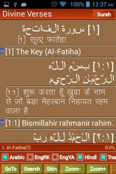 Quran English Hindi Arabic - Divine Verses apk screenshot