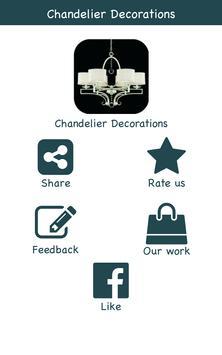 Chandelier Decoration Ideas poster