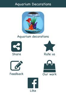 Aquarium Decoration Ideas poster