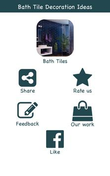 Bath Tile Decoration Ideas poster