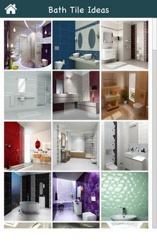 Bath Tile Decoration Ideas screenshot 1