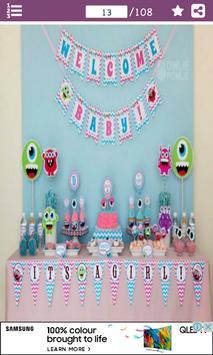 Baby Shower Decoration Designs apk screenshot