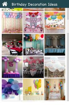 Birthday Decoration Ideas screenshot 1