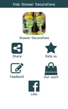 Kids Shower Decoration Ideas poster