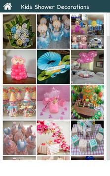 Kids Shower Decoration Ideas screenshot 1