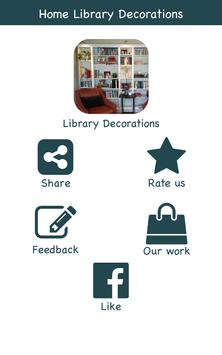 Home Library Ideas poster